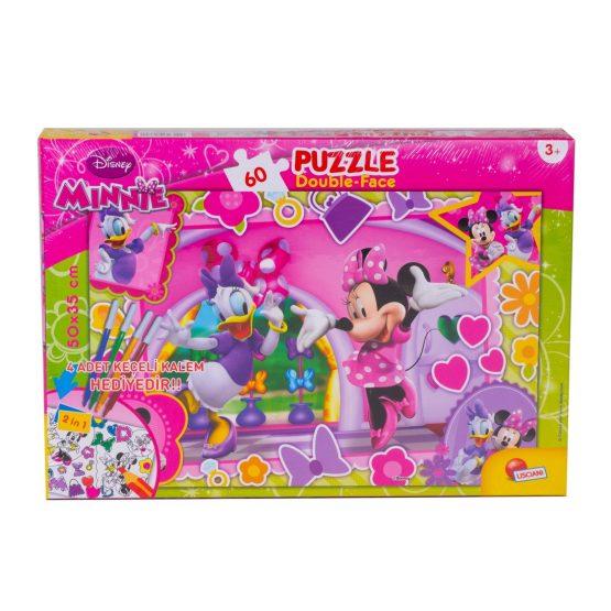Minnie 60 Parça Kalemli Puzzle