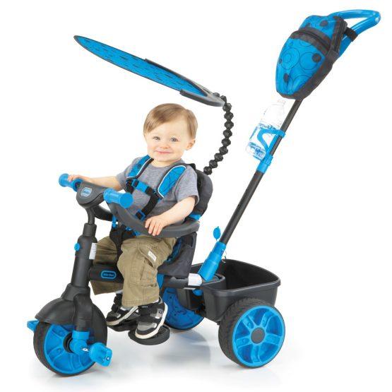 4 in 1 – 3 Tekerlekli Bisiklet – Mavi